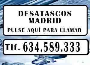 Desatascos Torrelaguna Urgentes